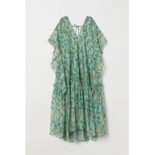 H & M - Kaftankleid aus Lyocellmix - Turquoise - Damen