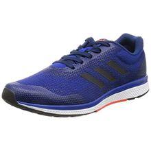 adidas Performance B39020 Mana Bounce Herren Sneaker aus Meshmaterial Flexible Laufsohle, Groesse 9,5, Blau