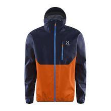 Haglöfs - Gram Comp Herren Gore Tex Active Shelljacke (dunkelblau/orange) - M