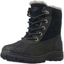 UGG® Australia - K´s Leggero Kinder Gore-Tex Stiefel, Lammfellstiefel, Winterstiefel, 1012384, Schwarz (Black), US 01 / EUR 31