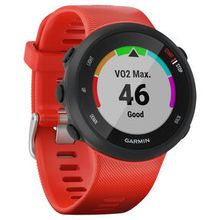 """GPS-Laufuhr """"Forerunner 45"""" rotes Armband"""