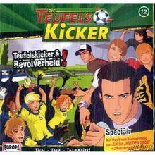 Die Teufelskicker,  Teufelskicker & Revolverheld, 1 Audio-CD Hörbuch