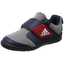 adidas Unisex Baby Fortaplay AC I Sneaker, Verschiedene Farben (Brgrin/Escarl/Maruni), 26 EU