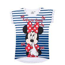 Disney Minnie Mädchen T-Shirt - weiß - 116