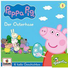 CD Peppa Pig 3 - Der Osterhase und 5 weitere Geschichten Hörbuch