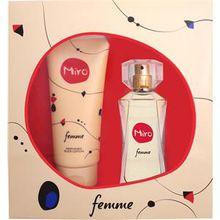 Miro Damendüfte Femme Geschenkset Eau de Parfum 50 ml + 100 ml Bodylotion 1 Stk.