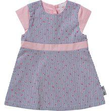 Baby Kleid mit UV-Schutz 15 dunkelblau Mädchen Baby