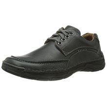 Josef Seibel Schuhfabrik GmbH Kongo, Herren Derby Schnürhalbschuhe, Schwarz (schwarz 600), 49 EU (14.5 Herren UK)