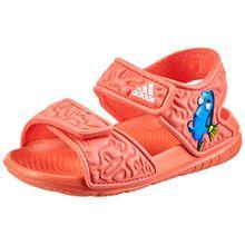 adidas Unisex-Kinder Disney Nemo Altaswim Gladiator Sandalen, Orange (Corsen/Ftwbla/Corsen), 26 EU