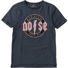 TOM TAILOR T-Shirt gelb / basaltgrau / rosa / schwarz