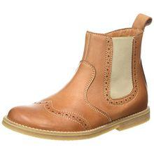 Froddo Unisex Chelsea Boots, Unisex-Kinder Chelsea Boots, Braun (Cognac), 35 EU