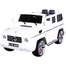 Kinder Elektroauto Mercedes G55 AMG Lizenziert, weiß