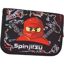 Federmäppchen Lego Ninjago Team Ninja schwarz/rot