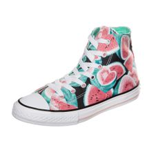 CONVERSE Sneaker 'Chuck Taylor All Star Watermelon High' mischfarben / weiß