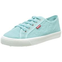 Levi's Damen Malibu W Sneaker, Blau (Light Blue), 38 EU