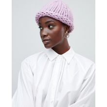Vero Moda - Strickmütze - Violett