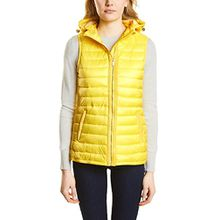 Street One Damen Outdoor Weste 220070, Gelb (Canary Yellow 11202), 36