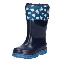 ROMIKA Gummistiefel Schuhe 'Eisbär' blau / weiß