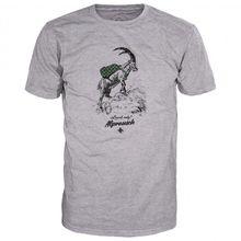 Alprausch - Wanderbock T-Shirt - T-Shirt Gr S grau
