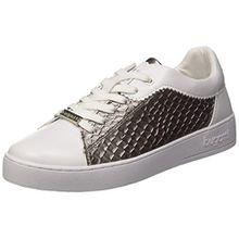 Bugatti Damen 422291025059 Sneaker, Weiß (White/Grey 2015), 36 EU