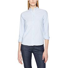 GANT Damen Hemd O1. Perfect Oxford Shirt, Blau (Capri Blue), Gr. 38