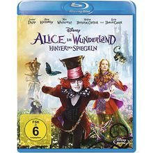 BLU-RAY Alice im Wunderland - Hinter den Spiegeln Hörbuch