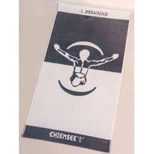 Chiemsee Jumper Sporttuch Handtuch Duschtuch 60 x 110cm grau