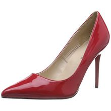 Pleaser CLASSIQUE-20 Damen Pumps, Rot (Red Pat), 36 EU