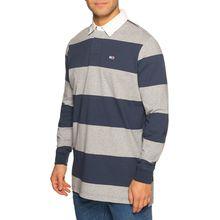 Tommy Jeans Poloshirt in grau für Herren
