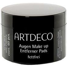 ARTDECO Pflege Reinigungsprodukte Augen Make-up Entferner Pads Fettfrei 60 Stk.