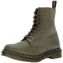 Dr. Martens Damen Pascal Khaki Virginia Combat Boots, Braun (Khaki), 41 EU