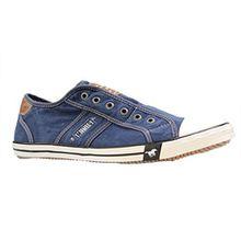 Mustang Damen Sneaker Jeansblau, Schuhgröße:EUR 45