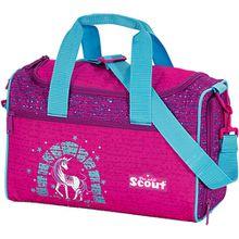 Scout Sporttasche IV Lilac Unicorn (Kollektion 2018/2020) türkis/pink