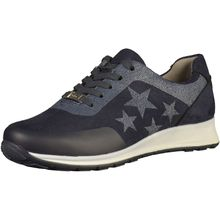 ara Sneakers Low blau Damen