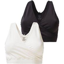 MLCROSSY BRA 2-PACK NF - Still-BHs - weiblich schwarz/weiß Damen Kinder