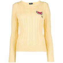 Polo Ralph Lauren Gestrickter Pullover - Gelb