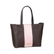 Calvin Klein Handtasche Mono Block Shopper Handtaschen braun Damen