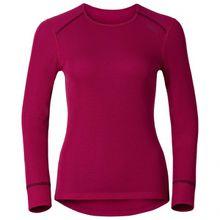 Odlo - Women's Shirt L/S Crew Neck Warm - Kunstfaserunterwäsche Gr L;M;S;XL;XS;XXL grau/schwarz;rot;grau;blau