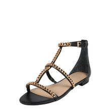 GUESS Sandale 'RAIVEN' schwarz