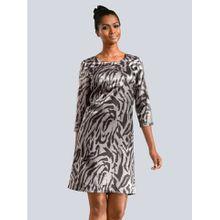 Alba Moda Kleid Kleid im Animal Print