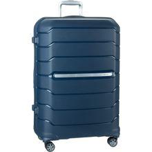 Samsonite Trolley + Koffer Flux Spinner 75 Expandable Navy Blue (108 Liter)