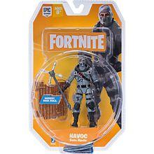 FORTNITE - Solo Mode Figur Havoc, 10 cm orange