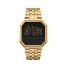 Nixon Armbanduhr 'Re-Run' gold / schwarz