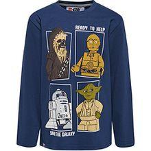 Lego Jungen T-Shirt 19895, Blau (Dark Navy), 104 cm