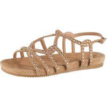 Alma en Pena Klassische Sandalen beige Damen