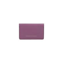 HORIZN STUDIOS Double Card Holder - Italienisches Leder - Marsala