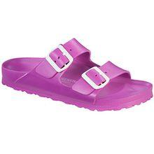 BIRKENSTOCK 129483 Classic Arizona Eva, Unisex Erwachsene Clogs, Pink - Pink (Rose) - Größe: 39 EU
