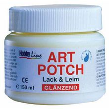 Art Potch Serviettenlack GLÄNZEND 150 ml