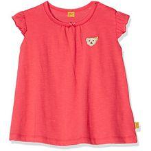 Steiff Collection Mädchen T-Shirt Flügelarm 6832301, Rot (Paradise Pink 2024), 86
