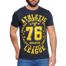 Soul Star T-Shirt in blau für Herren
